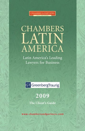 The Client's Guide - Greenberg Traurig LLP