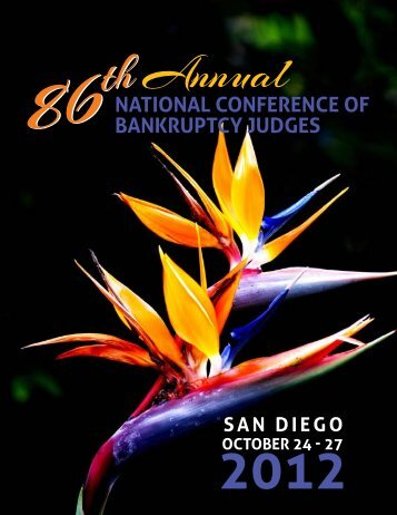 NatioNal CoNfereNCe of BaNkruptCy Judges - Greenberg Traurig LLP