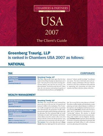 Greenberg Traurig, LLP_4PP_Tax