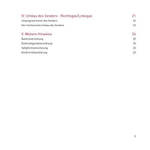 2,4GHz Sender - GTOYS