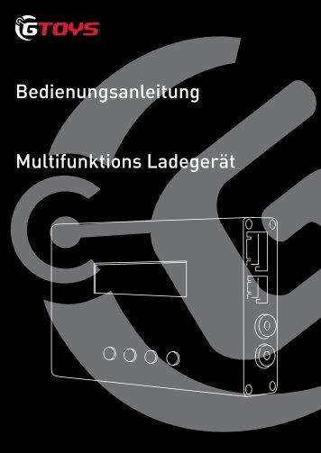 Bedienungsanleitung Multifunktions Ladegerät - GTOYS
