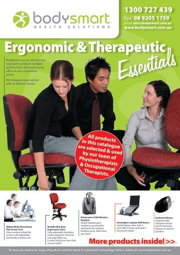 Essentials Ergonomic & Therapeutic
