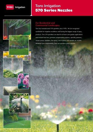 Toro Irrigation 570 Series Nozzles