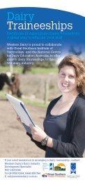 Dairy Traineeships