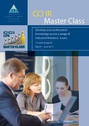 CCI IR Master Class