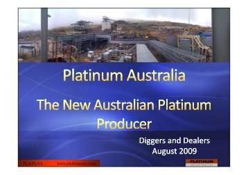 Diggers and Dealers August 2009