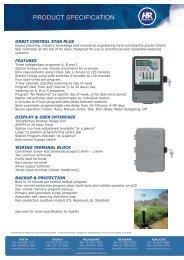 Orbit Control Star Plus - HR Products