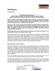 ASX Release