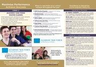 Maximise Performance Achieve Success
