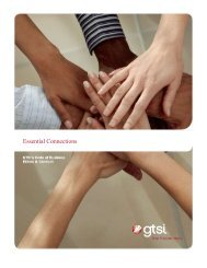 Essential Connections - GTSI
