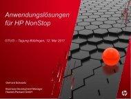 HP NonStop - Gtug.de