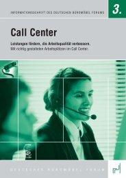 Call Center - PDF - buero-forum.de