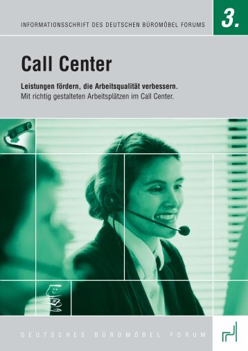 Call Center - PDF - buero-forum.de