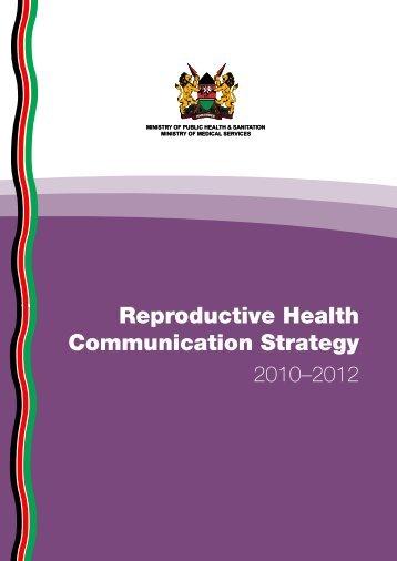 Reproductive Health Communication Strategy - C-Hub