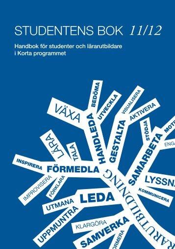 STUDENTENS BOK - Göteborgs universitet