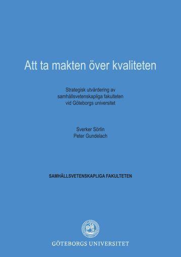 GU Samhällsvetenskapliga fakulteten - Göteborgs universitet