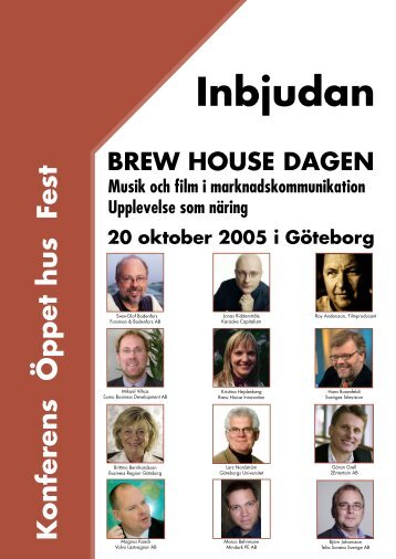Inbjudan - Göteborgs universitet