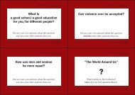 What is a good school/a good education for you/for different people ...