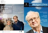We are changing the climate - Göteborgs universitet