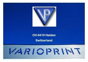 CH-9410 Heiden Switzerland