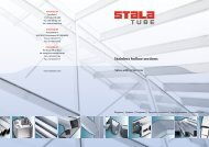 Stainless hollow sections Value-adding Services - Gual Steel