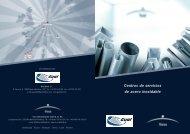 Centros de servicios de acero inoxidable - Gual Steel