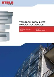 TECHNICAL DATA SHEET PRODUCT CATALOGUE - Gual Steel