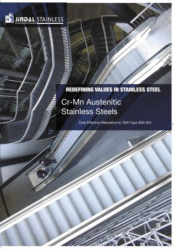 Cr-Mn Austenitic Stainless Steels - Gual Steel