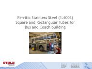 Ferritic Stainless Steel (1.4003) Square and ... - Gual Steel