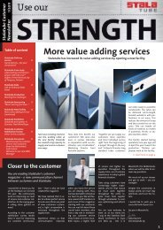 More value adding services - Gual Steel