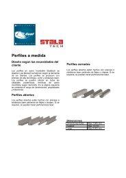 Perfiles a medida - Gual Steel