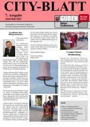 7. Ausgabe Juni/Juli 2011 - Guben