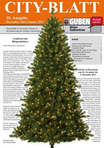10. Ausgabe Dezember 2011/Januar 2012 - Guben