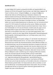 Schöffenwahl 2013 Im ersten Halbjahr 2013 werden ... - Guben