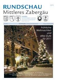 Fröhliche Weihnachten und alles Gute für 2011 - Güglingen