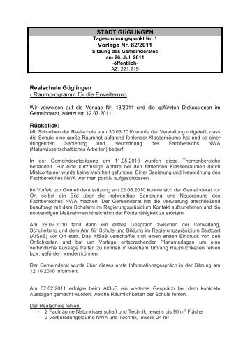 Stadt Güglingen Vorlage Nr 772011 Baugebiet Herrenäcker
