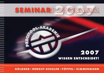 SEMINAR - G. Walter Güldner GmbH