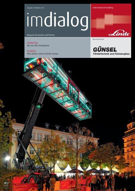 Kundenzeitschrift imDialoag 2012/03 - Guensel.de