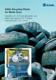 KAHL Recycling Plants for Waste Tyres - guenther-schoebel.de