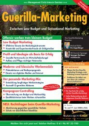 Management Circle Seminar - Guerilla-Marketing-Portal