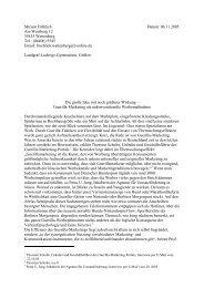 (06406) 5545 Email: froehlich.wettenberg@t-online.d - Guerilla ...