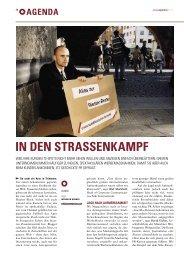 IN DEN STRASSENKAMPF - Guerilla-Marketing-Portal