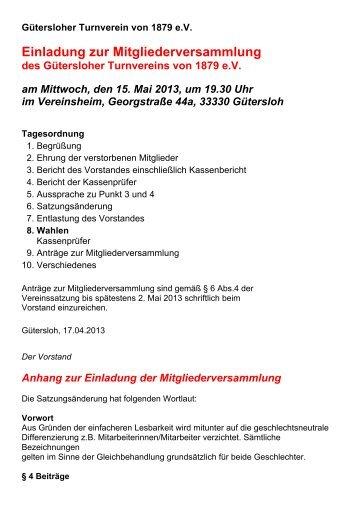 med ie nmacher .de einladung zur dritten mitgliederversammlung, Einladung