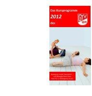 Kursprogramm 2012 - Gütersloher Turnverein von 1879 eV