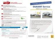 MA VOITURE - Gueudet