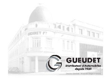 Présentation Groupe GUEUDET 2008