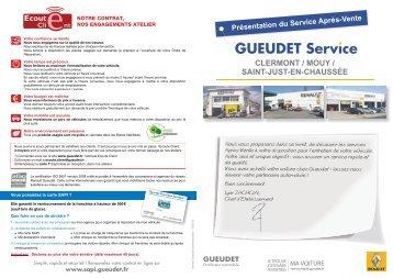 CLERMONT / MOuy / SAINT-JuST-EN-ChAuSSéE - Gueudet