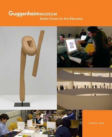 SPRING 2009 - Guggenheim Museum