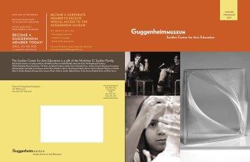 Summer 2007 - Guggenheim Museum
