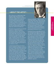 < ABOUT THE ARTIST > - Guggenheim Museum